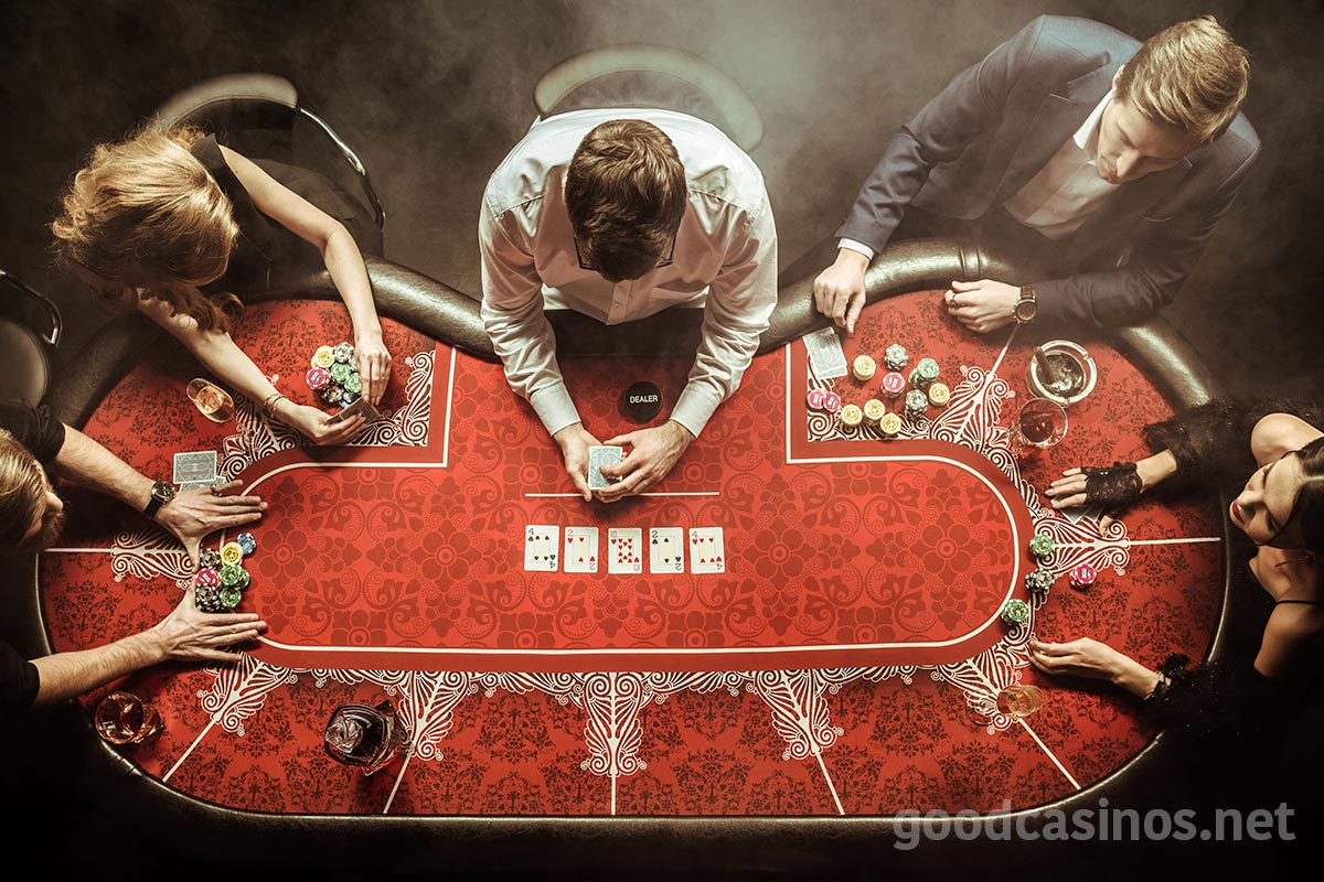 Poker and other casino card games