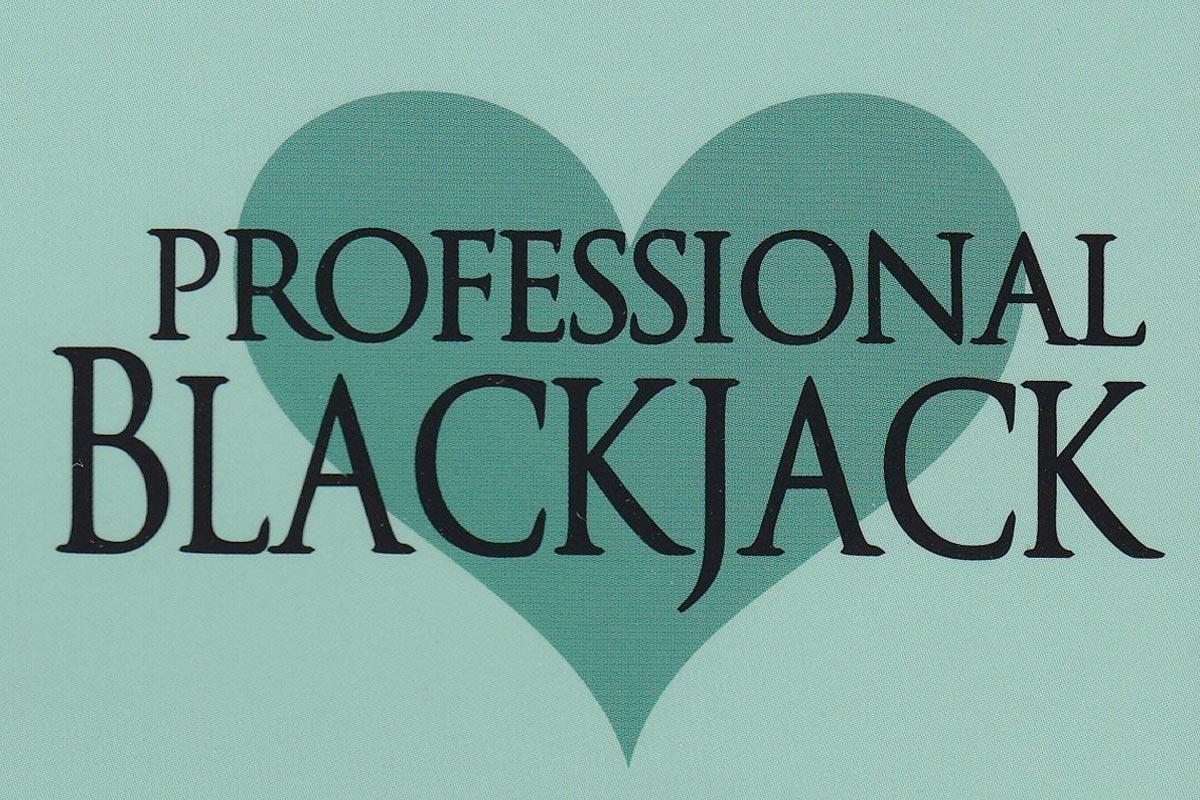 Professional Blackjack Book Review