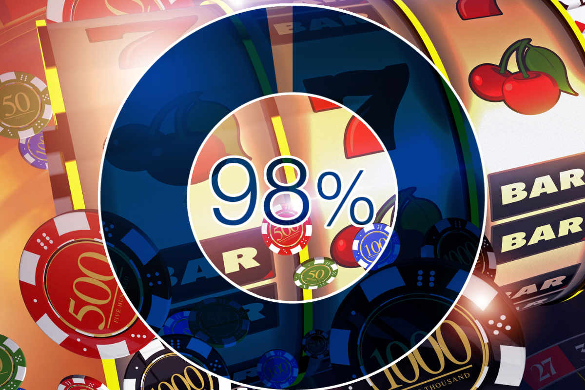 Slot Machine 98% Payback